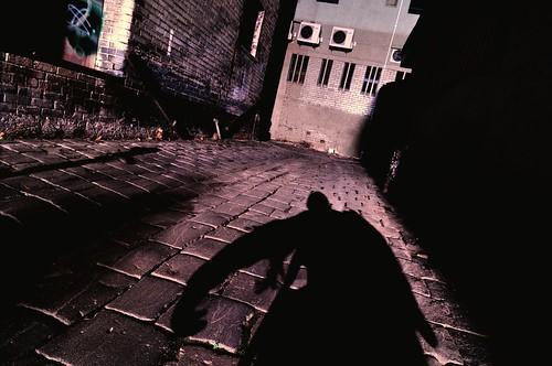 windows shadow night dark alley nikon bars bricks australia melbourne victoria creepy spooky human lane figure walls 12mm nocturne airconditioners bluestone urbanlandscape pavers d300 tokina1224mmf4atxpro wicklowlane