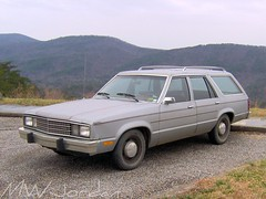1978 Ford Fairmont station wagon (whoiskennyhoward) Tags: ford station wagon break estate tires 1978 fairmont whitewall