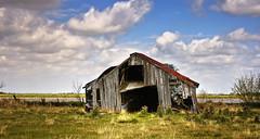 Off Balance (edwardleger) Tags: abandoned parish barn rural louisiana 2008 leaning hdr acadia platinumphoto betterthangood edwardleger goldstaraward exquisiteimage edwardnleger