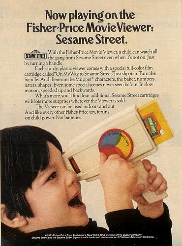 Fisher-Price Movie Viewer 1973 (by senses working overtime)