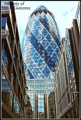 Blue Color Gherkin of London (david gutierrez [ www.davidgutierrez.co.uk ]) Tags: 2005 city uk greatbritain travel blue england urban color building london tower film architecture modern skyscraper canon buildings spectacular geotagged photography interestingness arquitectura cityscape unitedkingdom britain district centre capital great cities cityscapes blues center structure architectural financialdistrict explore foster normanfoster finepix londres highrise architektur fujifilm sensational metropolis topf100 financial gherkin swissre londra metropolitan impressive futuristic 30stmaryaxe thegherkin cityoflondon swissretower municipality edifice swissrebuilding cites contemporaryarchitecture squaremile commercialdistrict 100faves s6500fd s6000fd ukattraction londonec3v1lpengland