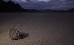 Racetrack @ Dusk (After Dark Photo) Tags: california longexposure racetrack desert deathvalley nationalparks racetrackplaya nocturnes strobist