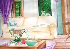 Salotto Colorato (Elanorya) Tags: 2002 arte terra acqua disegni matita aria foglio scuola acquarelli pennelli