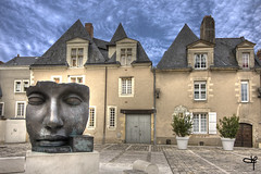 Per Adriano (Guillaume72) Tags: sculpture france face hdr museeum visage angers maineetloire anjou