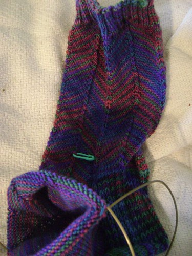 SOS 1st Jaywalker Sock #1