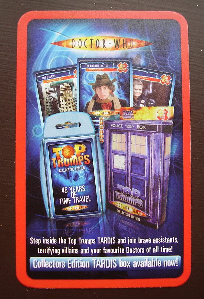 DR WHO - Top Trumps Ad
