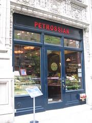 Petrossian: Cafe - exterior