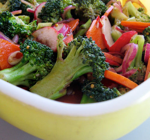 garden inspiration: marinated vegetable salad | Everybody Likes ...