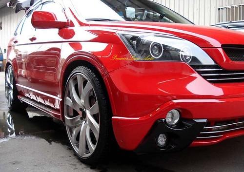 Automotive Concepts Pics Honda Crv 2009 Red