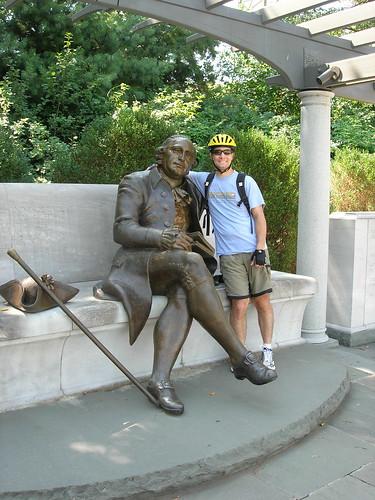 John with George Mason