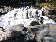 Barberville Falls in Fall