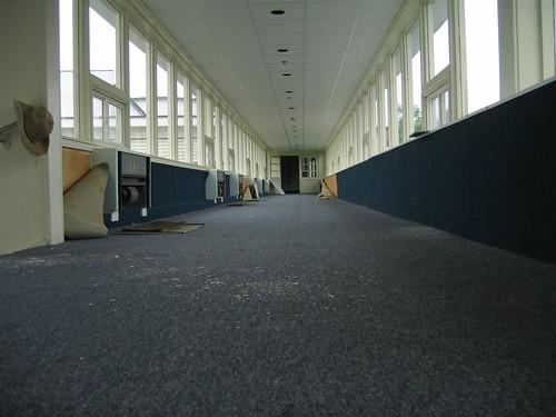 Passageway to the night club