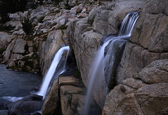 MOONLIGHT LAKE WATERFALL (Michael dawn2dawnphotography) Tags: california evening falls sierras sierranevada cascade waterfll