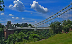 clifton suspension bridge (silyld) Tags: uk bridge blue england sky clouds bristol suspension british avon clifton soe brunel isambardkingdombrunel avongorge worldwidelandscapes