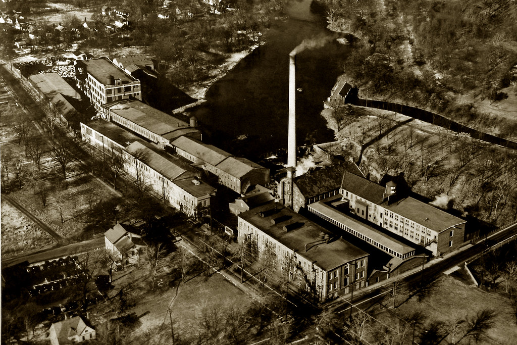 Beattie Carpet Mill, Little Falls, NJ, 1940