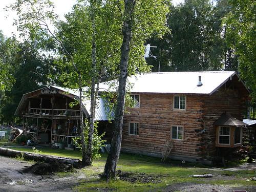 La casa de Joe Carlson ! Dalton Highway Alaska