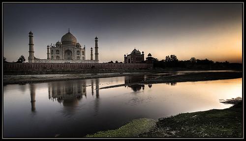Sunset Taj.