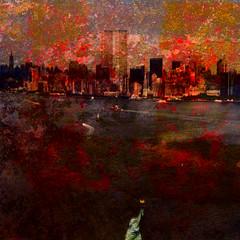 new york later (wolfgangfoto) Tags: new york color tower twin dictionary frizztext amazingamateur theunforgettablepictures proudshopper damniwishidtakenthat awardtree amongstthethorns wolfgangfoto