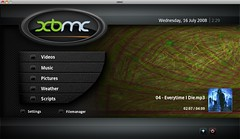 XBMC Home Screen por XBMC Media Center