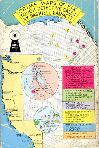 Dashiell Hammett Map