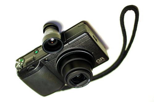 Ricoh GR Digital II+ Voigtlander 28mm Viewfinder - a photo
