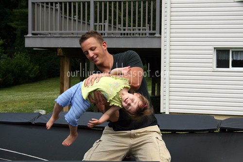 Jumping with Uncle Matty