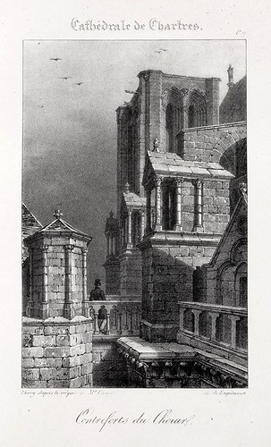 Chartres08- Contrafuertes del coro