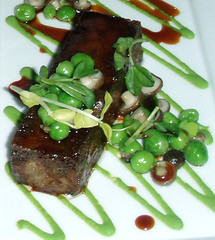 Pig's Head and English Peas