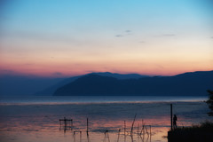 Lake in Pastel (HarQ Photography) Tags: japan lakebiwa absolutelystunningscapes japanesephotomobsters