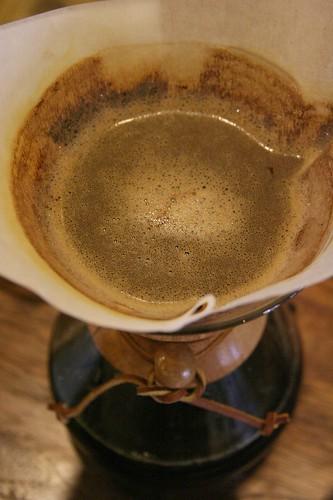 Brewing chemex