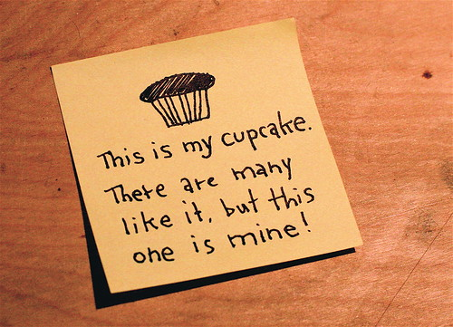 This is my cupcake