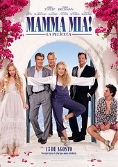 Poster Mamma mia meryl streep pierce brosnan