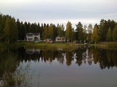 Lhdesuo, Sep 6, 2008 (bmichie) Tags: finland iphone 13c weatherbug mostlycloudy easternfinland airme lhdesuo