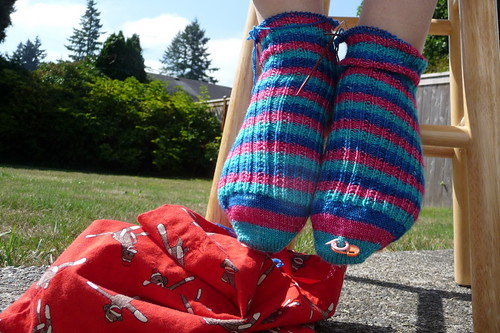 Summer Sky Socks