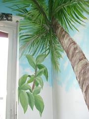 TROMPE - L'OEIL (donatellaribezzo) Tags: camera trees sea sky alberi garden design bedroom mare interior cielo palma palme letto giardino trompe donatella ibiscus loeil ribezzo afpov