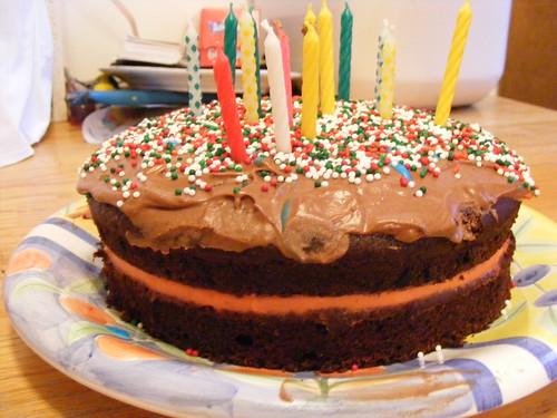"My ""Birfday Cake"""