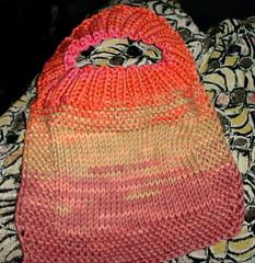 Completed Bib (bethsweet) Tags: knitting cotton bibs perfectbabybib