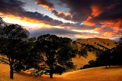 black diamond sunset (Marc Crumpler (Ilikethenight)) Tags: california trees sunset usa clouds canon landscape twilight hiking trails hills bayarea eastbay antioch blackdiamond ebrpd abw contracostacounty eastbayregionalparkdistrict i500 tamron1750 golddragon sfchronicle96hours 40d interestingness02 ebparks canon40d betterthangood theperfectphotographer goldstaraward absolutelystunningscapes colourvisions alemdagqualityonlyclub magicdonkeybest explore22sept08 visionqualitygroup ebparksok