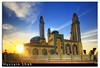 Al-Baqer Mosque [HDR] (Hussain Shah.) Tags: d50 nikon sigma mosque area mezquita kuwait 1020mm hdr shah hussain zahraa albaqer