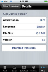 YouVersion iPhone Bible