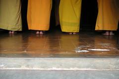 Hon Chen Temple (martin hopkins) Tags: orange colour yellow temple photography photo streetphotography vietnam monks buddism hue fujisuperior honchentemple
