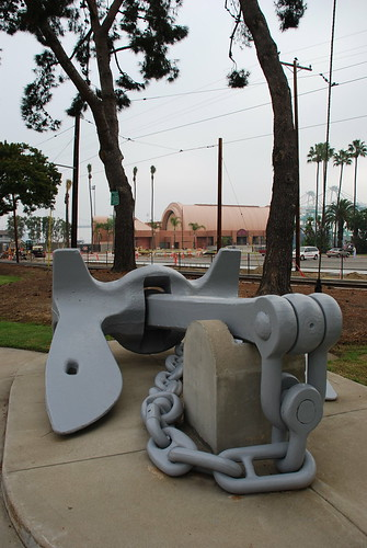 U.S.S. Los Angeles Naval Monument
