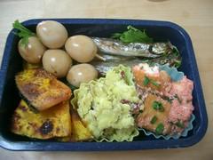 (skamegu) Tags: food rice bento japanesefood      quaileggs tarako bentos