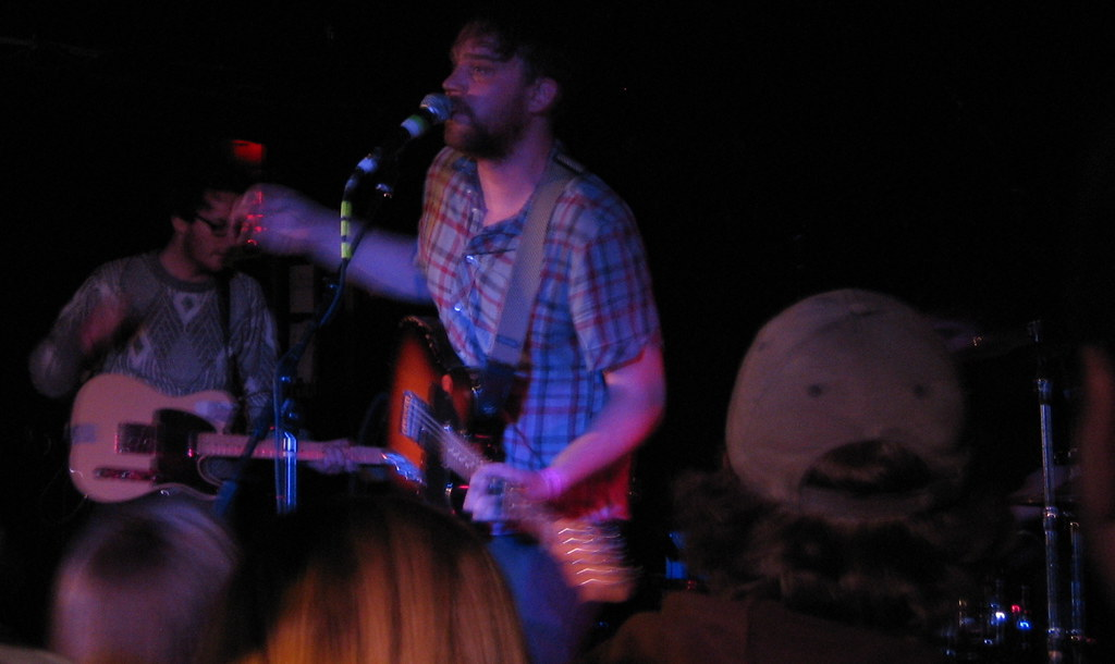 Andy and Scott of Frightened Rabbit