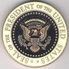 George W. Bush Challenge Coin Reverse