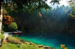 Blue Lake / Blausee (a.lo.pejor) Tags: lake mountains alps alpes lago schweiz switzerland nikon suisse suiza lac kandersteg alpen gry bluelake alpy montaas montagnes jezioro blausee szwajcaria d80 nikond80 colourartaward afsdxnikkor1855vr
