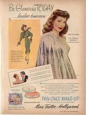 Max Factor ad c. 1947