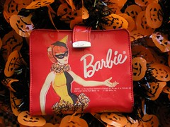 Happy Halloween (neshachan) Tags: halloween wallet trickortreat vinyl barbie masquerade allhallowseve vintagebarbie