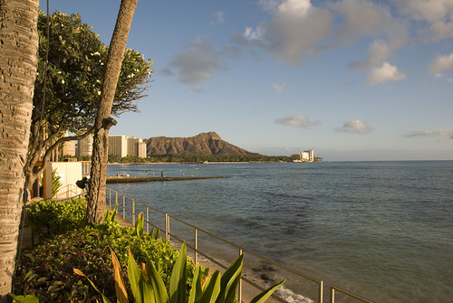 Diamond Head at Waikiki Beach