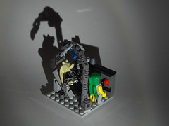 The Final Moments of Jar-Jar Binks (DarthNick) Tags: star lego contest spooky jar wars clever binks reasonably